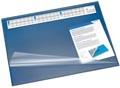 Läufer Synthos sous-main avec couverture, ft 52 x 65 cm, bleu