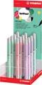 STABILO beYou! beCrazy! vulpen, medium, 0,5mm, display van 12 stuks in geassorteerde pastelkleuren