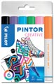 Pilot Pintor Creativ marqueur, fine, blister de 6 pièces en couleurs assorties