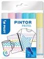 Pilot Pintor Pastel marqueur, moyen, blister de 6 pièces en couleurs assorties