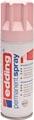Edding Permanent Spray 5200, 200 ml, pastelroze mat