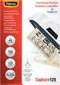 Fellowes lamineerhoes Capture125 ft A3, 250 micron (2 x 125 micron), pak van 100 stuks