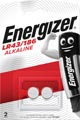 Energizer knoopcel LR43/186, blister van 2 stuks