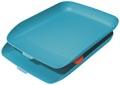 Leitz Cosy bac à courrier, bleu, set de 2 pièces