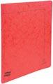 Exacompta classeur à anneaux carte lustrée, ft A4, 2 anneaux de 1,5 cm, rouge