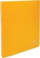 Exacompta classeur à anneaux , pour ft A4 maxi, en PP opaque, avec 2 anneaux de 30 mm, jaune