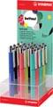 STABILO beCrazy! gelroller, display van 12 stuks in geassorteerde pastelkleuren