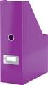 Leitz tijdschriftenhouder Wow Click & Store paars