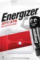 Energizer knoopcel 377/376, op blister