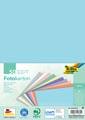 Folia gekleurd fotopapier pastel, ft A4, pak van 50 vel in 10 geassorteerde kleuren