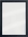 Securit krijtbord Woody, transparant met zwarte randen, ft 30 x 40 cm, hout met zwarte lakafwerking