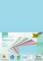 Folia gekleurd tekenpapier pastel, ft A4, pak van 100 vel in 10 geassorteerde kleuren