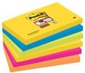 Post-it Super Sticky notes Rio, ft 76 x 127 mm, 90 vel, pak van 6 blokken