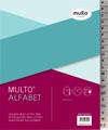 Multo intercalaires en plastique, pour ft A5, 17 trous, couleurs assorties