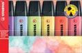 STABILO BOSS ORIGINAL Pastel surligneur, étui de 6 pièces en couleurs assorties