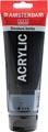 Amsterdam acrylverf tube van 120 ml, oxydzwart