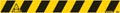 Vloersticker, houd afstand, ft 800 x 80 mm