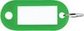 Porte-clés vert, boîte de 100 pièces