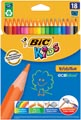 Bic Kids kleurpotlood Ecolutions Evolution, doos van 18 stuks