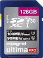 Integral geheugenkaart SDXC, 128 GB