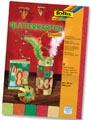 Folia Carton à paillettes Oriental, paquet de 5 feuilles en couleurs assorties