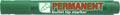 Crown permanent marker, ronde punt, schrijfbreedte 1 - 3 mm, groen