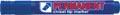 Crown permanent marker, schuine punt, schrijfbreedte 1 - 3 mm, blauw