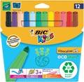 Bic Kids Feutre Visacolor XL Ecolutions 12 feutres en étui cartonné