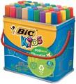Bic Kids Feutre Visacolor XL Ecolutions 48 feutres en boîte métallique