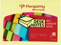 Pergamy notes ft 76 x 101 mm, geel
