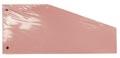 Pergamy trapezium verdeelstroken, pak van 100 stuks, roze