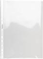 Pergamy pochette perforée, A4, perforation 11 trous, PP lisse de 90 micron, boîte de 100 pièces