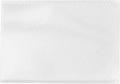 Pergamy U-mapje ft kredietkaart, gekorrelde PP, pak van 100 stuks