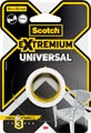 Scotch ruban de réparation Extremium Universal, ft 25 mm x 3 m, blanc