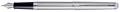 Waterman Collection Hemisphère stylo plume moyen, Steel CT