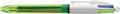 Bic stylo bille 4 Colours Fluo