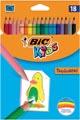 Bic Kids crayon de couleur Tropicolors, 18 crayons en étui cartonné