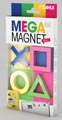 Dahle Mega Magnet Mini, aimant Néodyme, paquet de 4 pièces de différentes formes