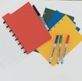Correctbook intercalaires format A5, 4 onglets en couleurs assorties