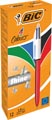Bic stylo bille 4 Colour Shine, rouge