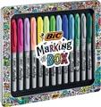 Bic Marking Box 15-delig in geassorteerde kleuren