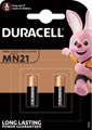 Duracell piles Security, MN21, blister 2 pièces
