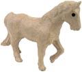 Décopatch cheval, papier-mâché, petit