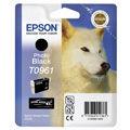 Epson inktcartridge T0961, 11,4 ml, OEM C13T09614010, zwart