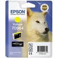 Epson inktcartridge T0964, 890 pagina's, OEM C13T09644010, geel