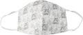 Masque lavable, motif tigers, taille: hommes, paquet de 5 pièces