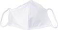 Masque lavable, blanc uni, taille: enfants, paquet de 5 pièces