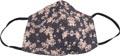 Masque lavable, motif pink flowers, taille: femms, paquet de 5 pièces