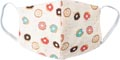 Masque lavable, motif donut party, taille: enfants, paquet de 5 pièces