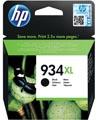 HP inktcartridge 934XL, 1.000 pagina's, OEM C2P23AE, zwart